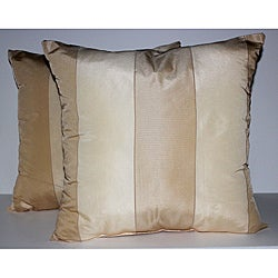 RLF Home Pascal Stripe Formosa Decorative Pillows (Set of 2)