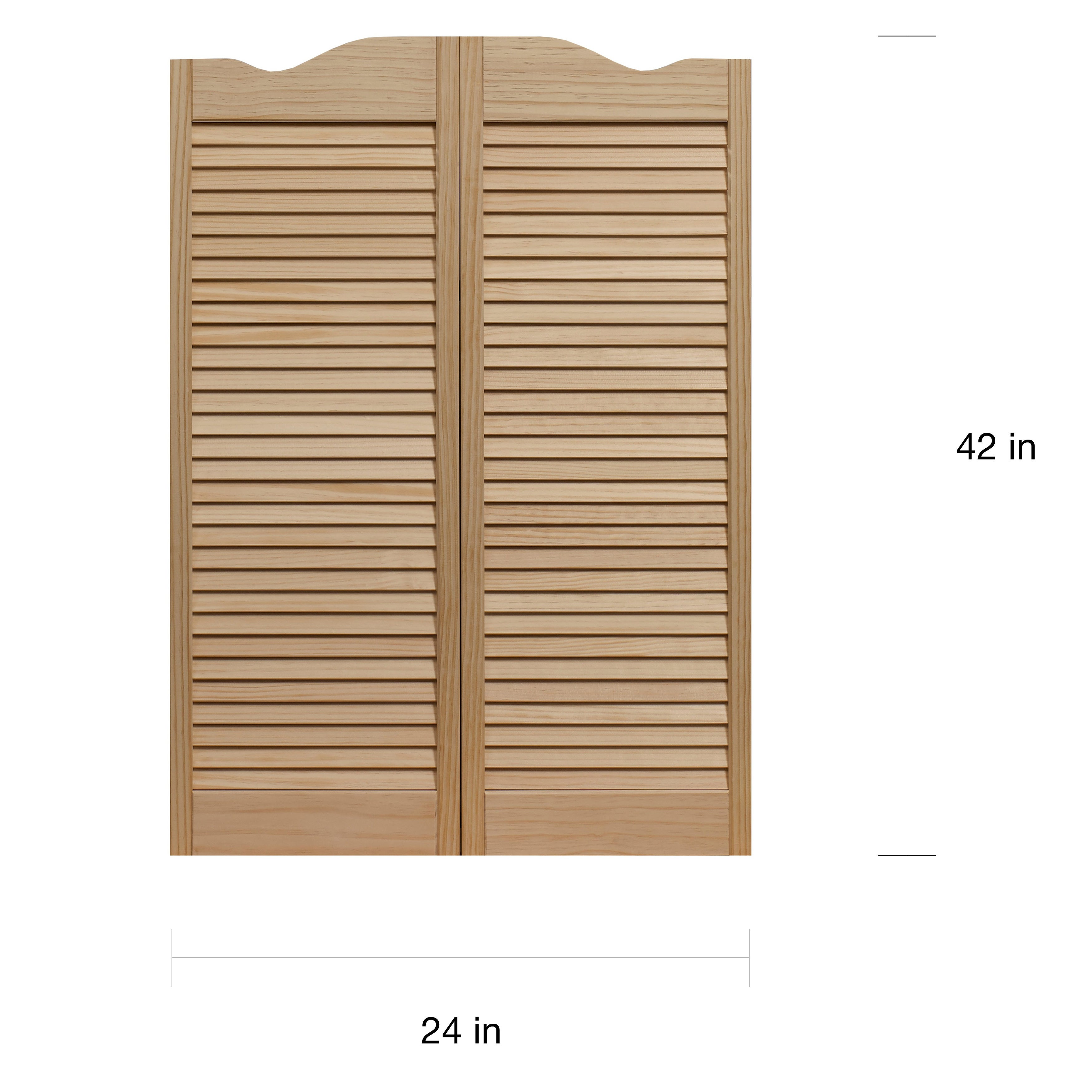 Louvered Kitchen Cabinet Doors: Unfinished Louvered Cabinet Doors