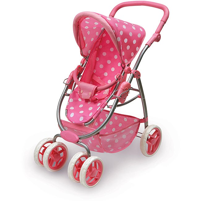 Badger Basket 6-wheel Doll Travel System Stroller and Carrier