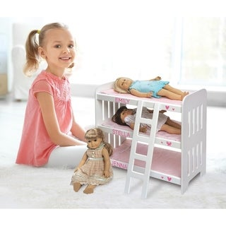 Badger Basket Triple Doll Bunk Bed Set