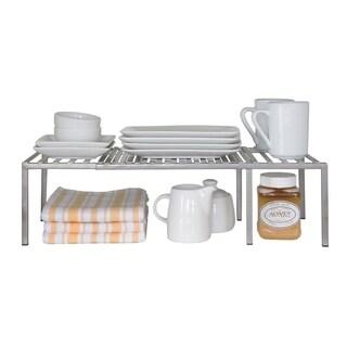 Seville Classics Expandable Iron Kitchen Counter Shelf