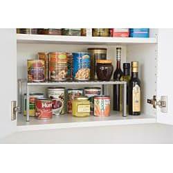 Seville Classics Expandable Kitchen Counter Shelf Free