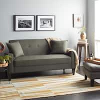Clay Alder Home Antioch Green Linen Sofa