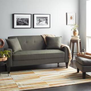 bedroom sofas. Handy Living Ellie Basil Green Linen Sofa Bedroom Sofas  Couches Loveseats For Less Overstock com