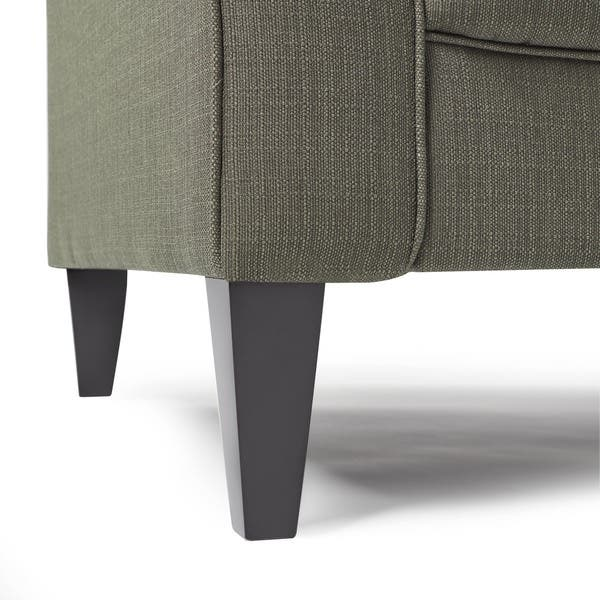 Enjoyable Shop Copper Grove Umpqua Green Linen Sofa On Sale Free Gmtry Best Dining Table And Chair Ideas Images Gmtryco