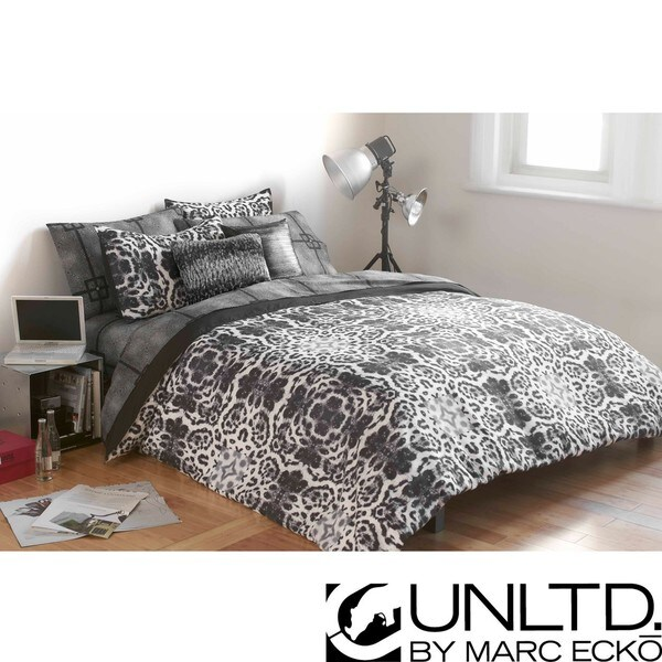 Incroyable Marc Ecko Unltd Undercover Full/Queen Size 3 Piece Duvet Cover Set