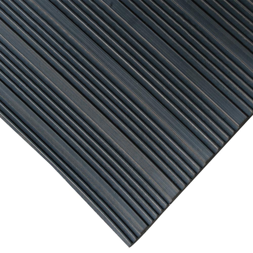 Rubber Cal Composite Rib Corrugated Rubber Anti Slip Floor