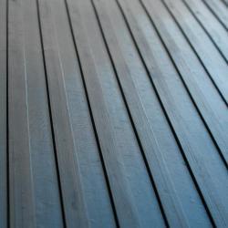 Rubber-Cal Wide Rib Corrugated Rubber Floor Mat (3' x 8' x 3mm) - Thumbnail 2