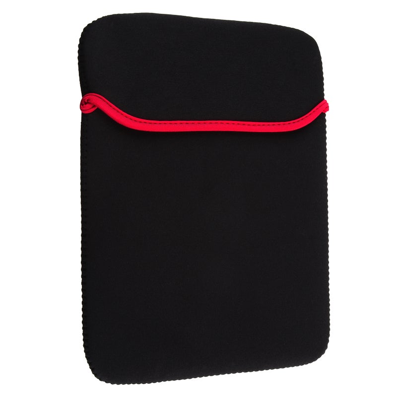 INSTEN Black/ Red Notebook Sleeve for Apple iPad