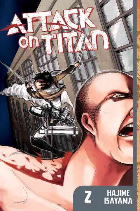 Attack on Titan 2 (Paperback) - Thumbnail 0