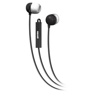 Maxell In-Ear Earbuds with Microphone and Remote