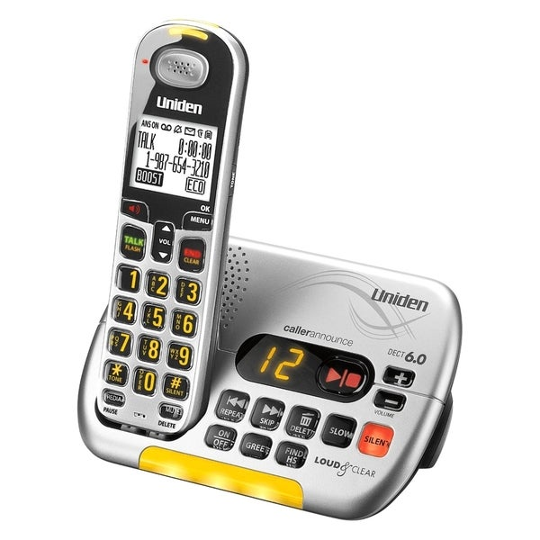 Uniden LOUD & CLEAR Cordless Phone
