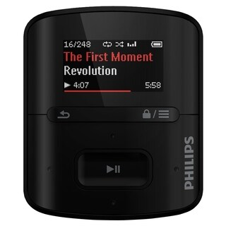 Philips GoGear SA4RGA04KF 4 GB Flash MP3 Player