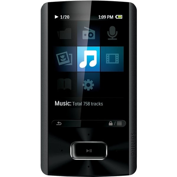 Philips GoGear SA4ARA08KF 8 GB Flash Portable Media Player