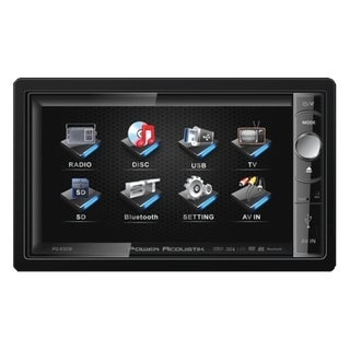 "Power Acoustik PD-650B Car DVD Player - 6.5"" Touchscreen LCD - 208 W"