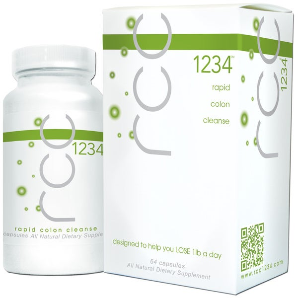 rcc 1234 Rapid Colon Cleanse