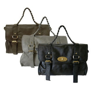 Donna Bella Designs 'Cadence' Faux Leather Tote Bag (2 options available)