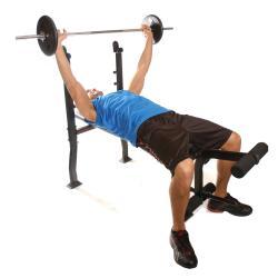 CAP Barbell Standard Weight Bench - Thumbnail 1