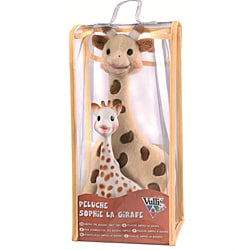 Vulli Sophie the Giraffe Plush Toy and Teether Set