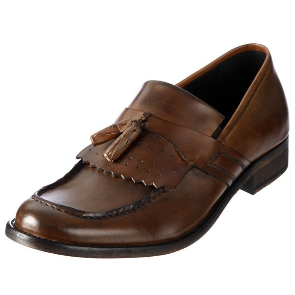Kenneth Cole Men's 'Cover Page' Tan Loafers