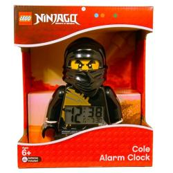 LEGO Ninjago Cole Mini-figure Alarm Clock with Detachable Staff - Thumbnail 1