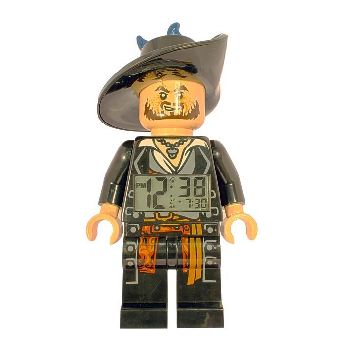 LEGO Pirates of the Carribean Barbossa Mini-Figure Alarm Clock