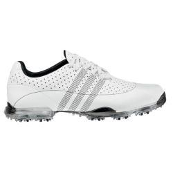 Adidas Men's adiPURE Nuovo White/ Black Golf Shoes - Thumbnail 0