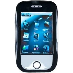 Mach Speed Trio T2810C 4 GB Black Flash Portable Media Player