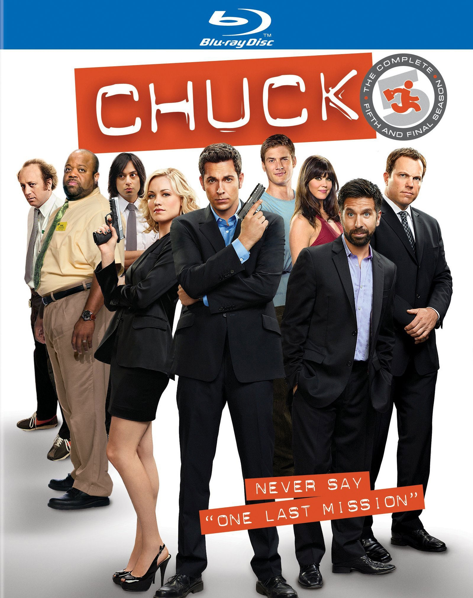 Chuck: The Complete Fifth Season (Blu-ray Disc)