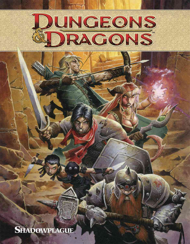 Dungeons & Dragons 1: Shadowplague (Paperback)