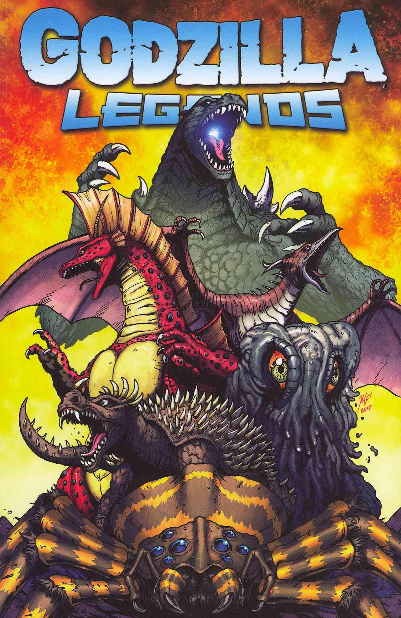 Godzilla Legends (Paperback)
