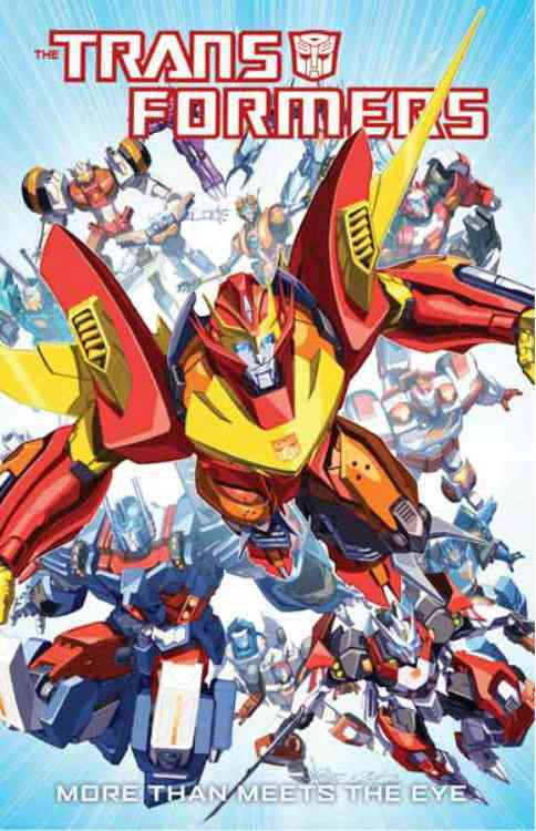 The Transformers: More Than Meets the Eye 1 (Paperback)