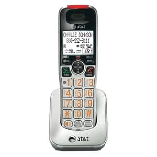 AT&T CRL30102 Accessory Handset, Silver/Black|https://ak1.ostkcdn.com/images/products/6498959/AT-T-Accessory-Handset-with-Caller-ID-Call-Waiting-P14089018.jpg?impolicy=medium