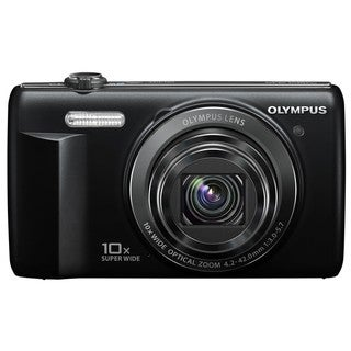 Olympus VR-340 16MP Black Digital Camera