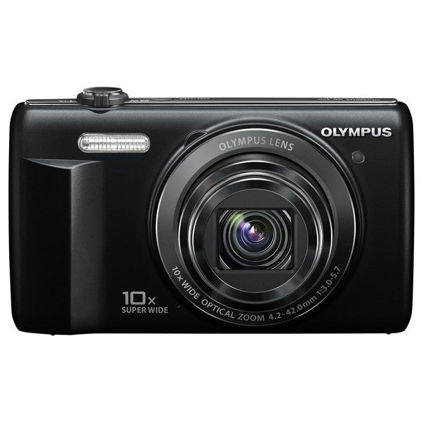 Olympus VR-340 16MP Black Digital Camera