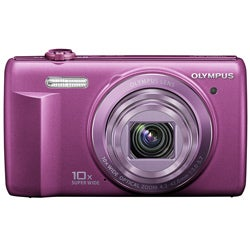 Olympus VR-340 16MP Purple Digital Camera