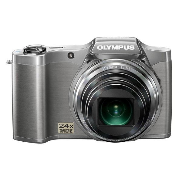 Olympus SZ-12 14MP Silver Digital Camera