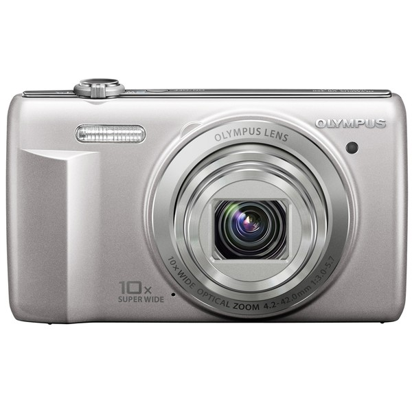 Olympus VR-340 16MP Silver Digital Camera