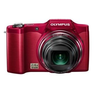 Olympus SZ-12 14MP Red Digital Camera