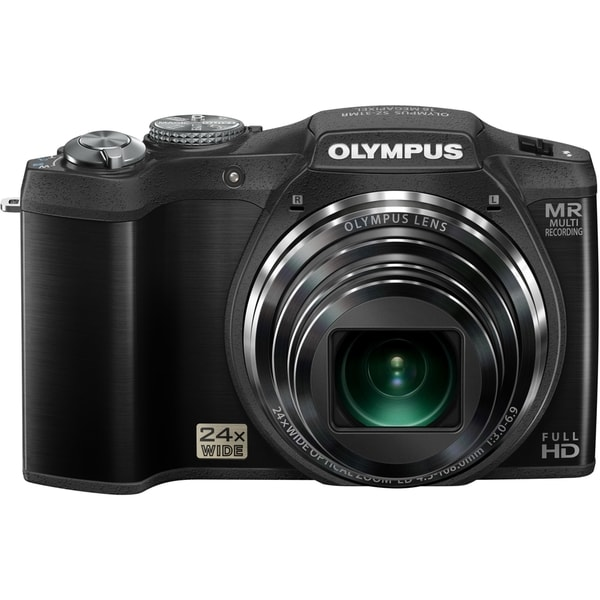 Olympus SZ-31MR iHS 16 Megapixel Compact Camera - Black