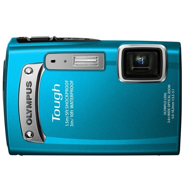 Olympus TG-320 Tough 14MP Blue Digital Camera