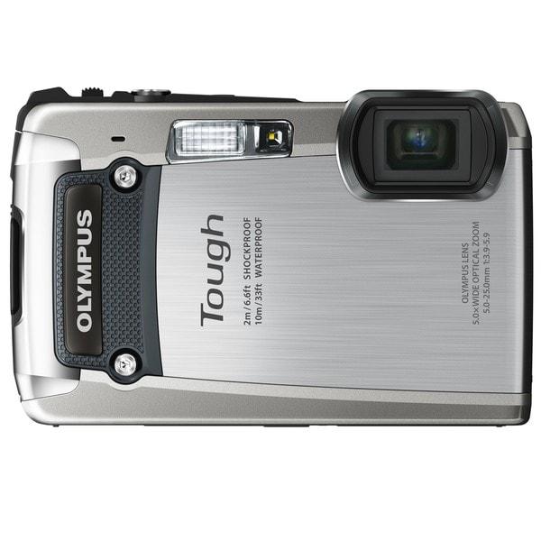 Olympus Tough TG-820 iHS 12MP Silver Digital Camera