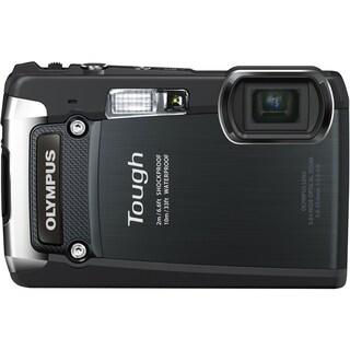 Olympus Tough TG-820 iHS 12 Megapixel Compact Camera - Black