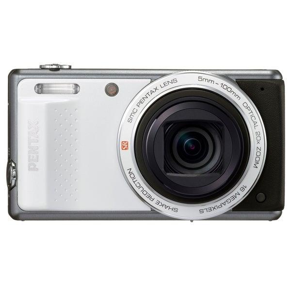 Pentax Optio VS20 16 Megapixel Compact Camera - White
