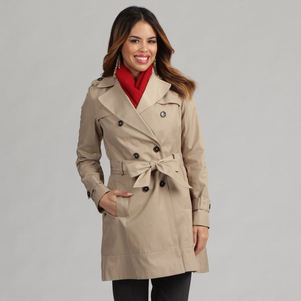 Tommy Hilfiger Women's Double Breasted Trench Coat