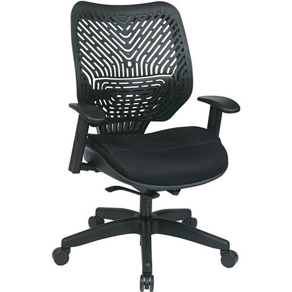 Office Star Self Adjusting SpaceFlex Back Chair with Self Adjusting Mechanism