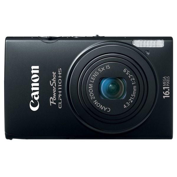 Canon PowerShot ELPH 110HS 16.1MP Black Digital Camera