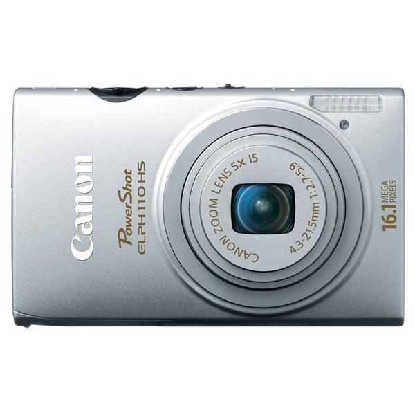 Canon PowerShot ELPH 110HS 16.1MP Silver Digital Camera