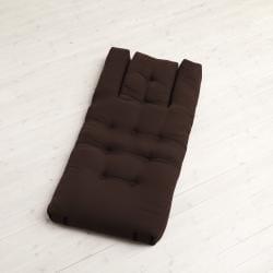 Chocolate Brown Fresh Futon Hippo