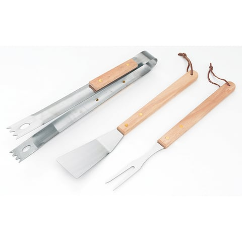 Kitchen Worthy 3-Piece Barbecue Tool Set
